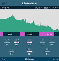 Sub Generator plugin by denise