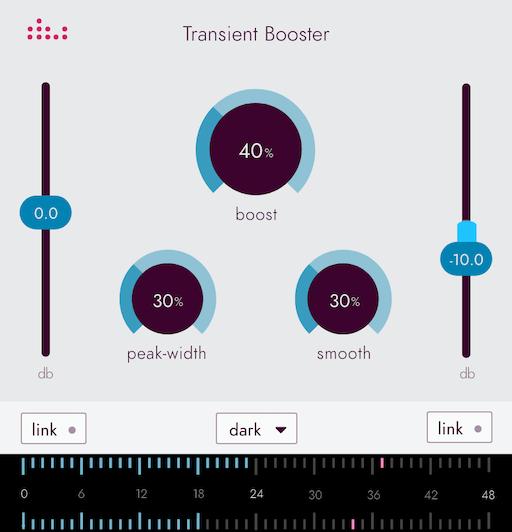 Denise Essentials series plugin the Transient Booster