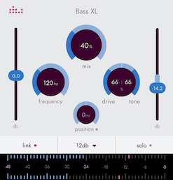 Bass XL plugin by denise