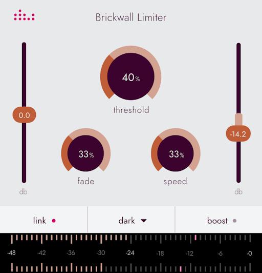 Denise Essentials series plugin the Brickwall Limiter