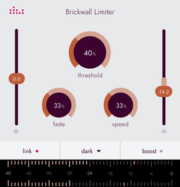 Brickwall Limiter plugin by Denise