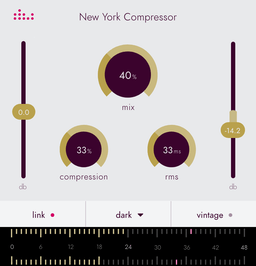 New York Compressor plugin by Denise